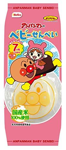 栗山米菓 14枚アンパンマンのベビーせんべい 14枚×12袋