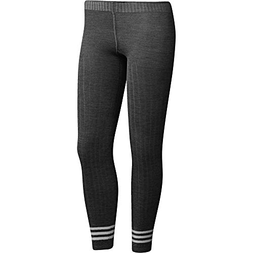adidas Damen Tight 3 Stripes Leggings, Black, M