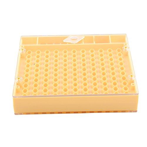 Fdit 155 PCS Terrario de Abeja Reina Equipo para Cría de Abeja Reina Herramientas de Incubadora de Abejas Queen Bee Cages Socialme-EU