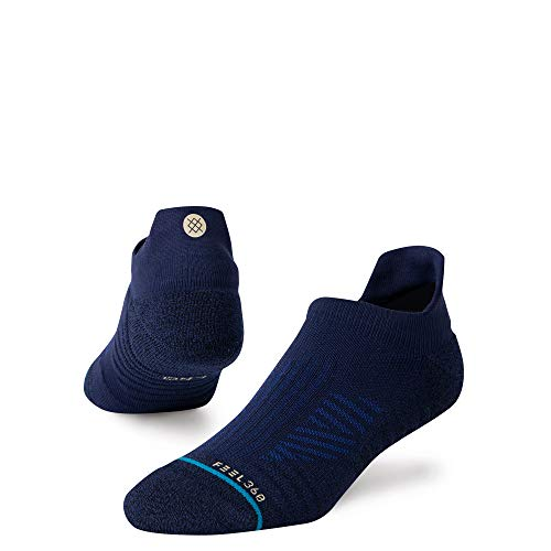 Stance Unisex's Low Sock Athletic TAB ST Running, Navy, Large