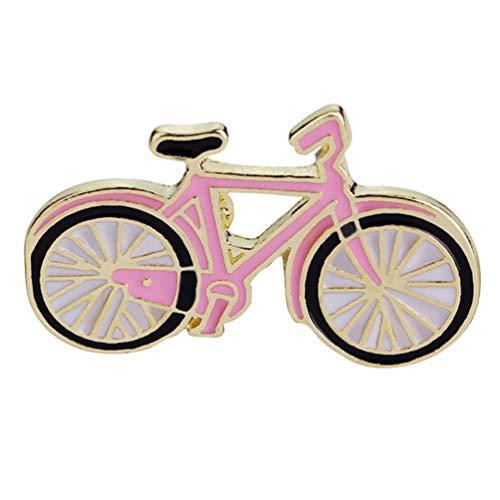 Happyyami 1 Pz Spilla per Bicicletta Smalto Spilla Modello Cartone Animato Corpetto Gioielli Spilla Abiti Accessori per Camicie Jeans