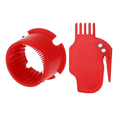 Remplacement pour IRobot Roomba 400 500 600 700 Robotic Aspirateur Accessoires, Balayeuse kit Pièces de Remplaçant compris 1 x brosse plate 1 x peigne rond