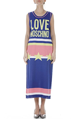 Love Moschino Women's Dress WS77S00 X07954117 Multicolor 1/I Spring Summer 2018