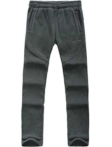 Lakaka Herren Fleecehose Warm Trainingshose Sport Jogginghose Sweatpants Outdoor Climbing Hiking Pants