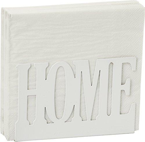 Support pour serviettes de table – en métal Crème – Home Inscription