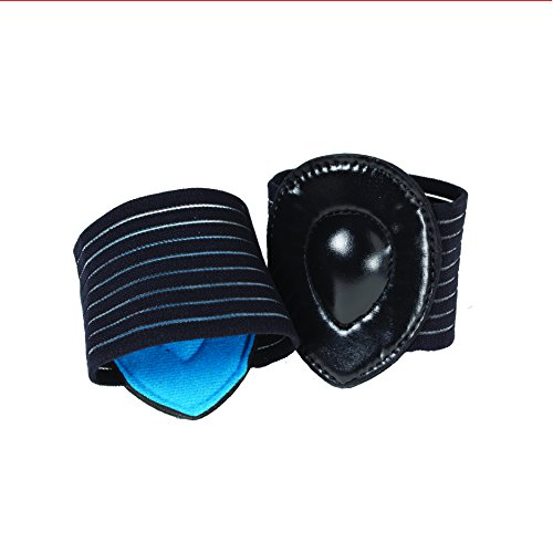 Strutz Pro-Cushioned Arch Supports Black