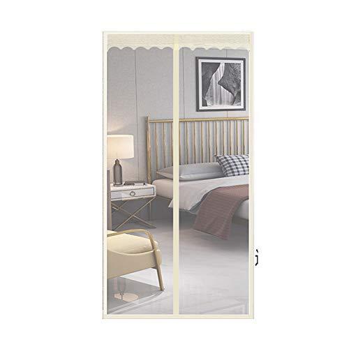 SHULI Magnetic Screen Door Hands Free Easy to Install No Drilling for Sliding Glass Door French Door Patio Door,A,100cmx210cm