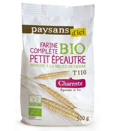 Farine complète de Petit épeautre bio et équitable T110