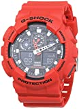 Casio G-Shock Herren Harz Uhrenarmband GA-100B-4AER