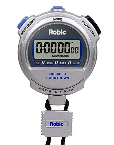 Robic Silver 2.0 Twin Stopwatch w/Countdown Timer