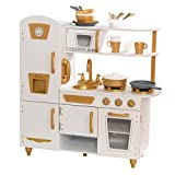 Best Play Kitchens - KidKraft Exclusive Edition Modern White Play Kitchen Review