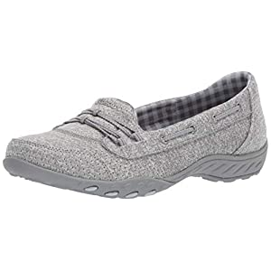 Skechers Breathe Easy - Good Influence Gray 9 C - Wide