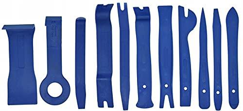 Jerky Un Juego de Cuchillas, extractores para Desmontar plásticos en el automóvil, tapicería, Clip (Juego de 11 Piezas)