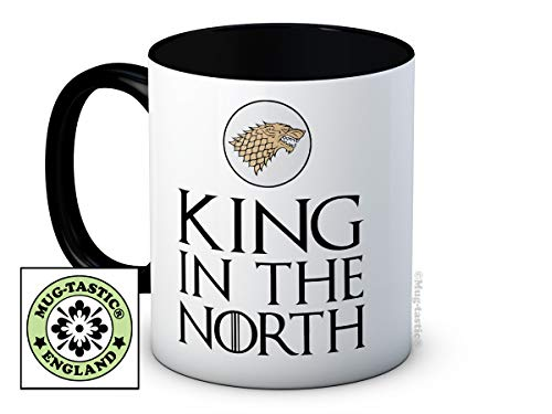 mug-tastic King in The North - Game of Thrones - de Haute qualité Tasse à thé café