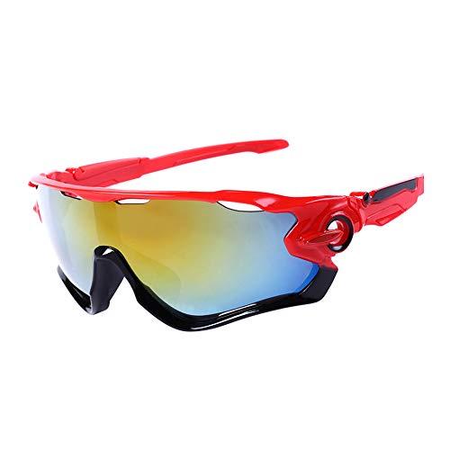 LAAT Gafas de Sol, Protección Gafas para Deportivas Polarizadas, La Mejor Opción para el Ciclismo