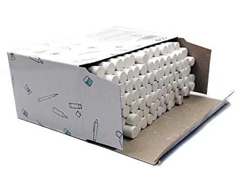 Tizas Blancas Caja de 100 Unidades