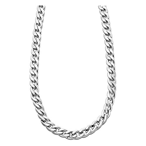 Lotus Style Collar Plata ls1938–1/1acero inoxidable hombre joyas jls1938–1de 1