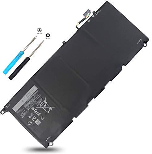 JD25G Laptop Battery for Dell XPS 13-9343 13-9350 P54G001 P54G002 Touchscreen InfinityEdge Ultrabook 13D-9343-1808T 13D-9343-1508 13D-9343-1608T 13-9350-D1508 13-9350-D1608T 0N7T6 5K9CP JHXPY 90V7W