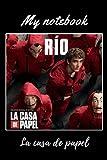Rio la casa de papel: season 5 100pages 6x9