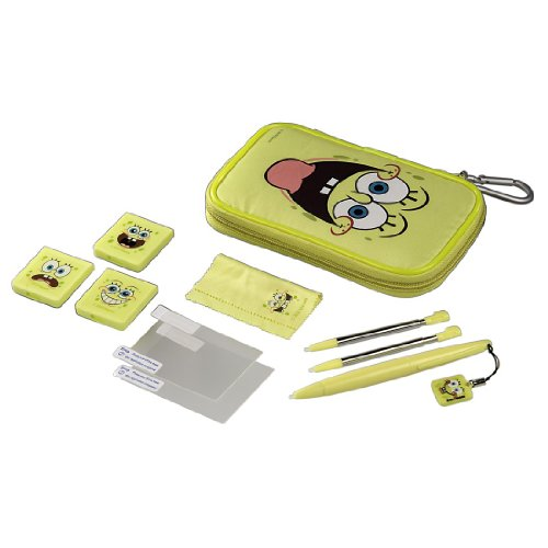 Trendwerk Bob Esponja - Pack de accesorios para Nintendo 3DS/DSi