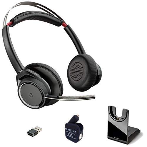 GTW Voyager Focus UC B825 Bluetooth Headphones with ...