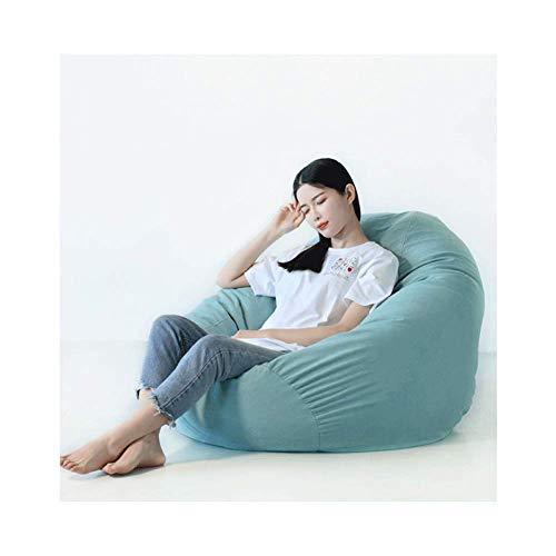 WAJI Rode hoge rug zitzak stoel binnen en buiten waterdichte zitzak, ideaal voor speelstoelen en tuinstoelen, met enkels, 100 * 120 groot