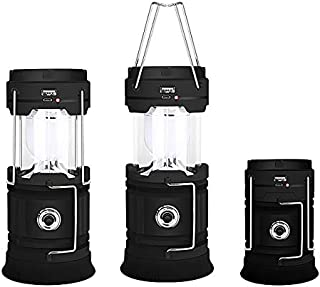 LED Camping Lantern Portable Lightweight Super Bright Outdoor Collapsible Camping Lights LED Lamp for Barbecue Outages Emergencies