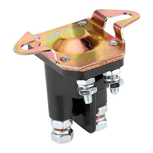 Qiilu Motormagnetventil, Anlasser Kleines Motorfernmagnetventil 109081X 109446X Passend für HUSQVARNA AYP