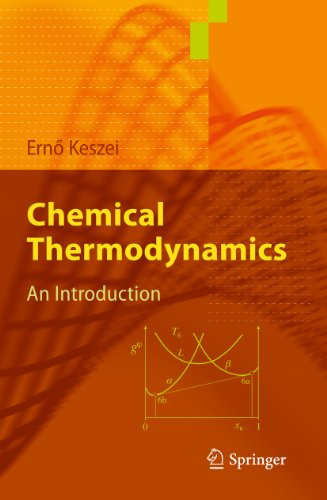 Chemical Thermodynamics: An Introduction (English Edition)