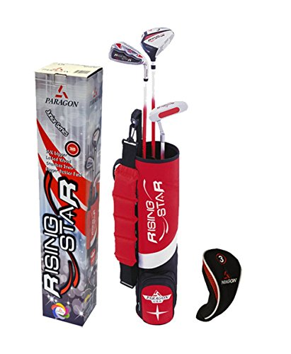 Paragon Ages 3-5 Red Golf Club Set