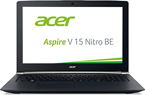 Acer Aspire V 15 Nitro Black Edition (VN7-592G-747P) 39,6 cm (15,6 Zoll Ultra-HD IPS matt) Gaming Laptop (Intel Core i7-6700HQ, 16 GB RAM, 2.000 GB HDD, (4 GB VRAM), Win 10) schwarz