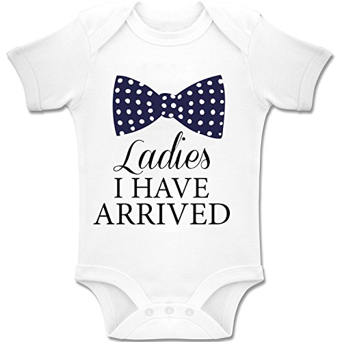 Acen Merchandise Acen Merchandise Ladies, I Have Arrived! - Baby Bodys/Strampler Romper Onesie Unisex 100% Baumwolle (0-24 Monate) (3-6 Monate)