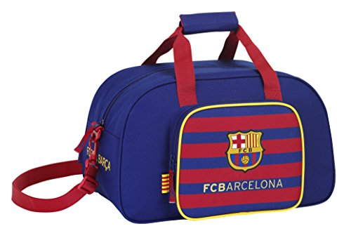 Safta FC Barcelona Bolsa de Deporte, 40 x 24 x 23 cm, Color Azul Marino