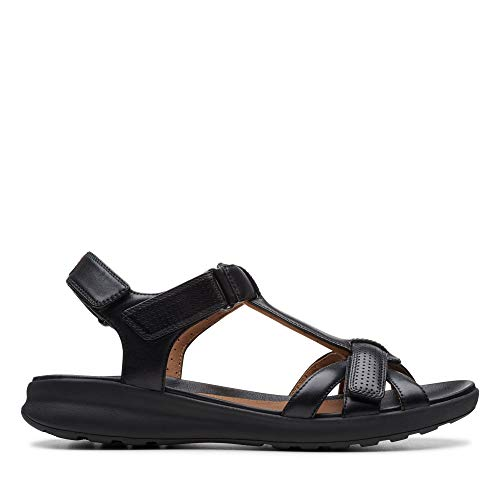 CLARKS UN ADORN VIBE Sandalen/Open schoenen femmes Zwart Sandalen/Open schoenen