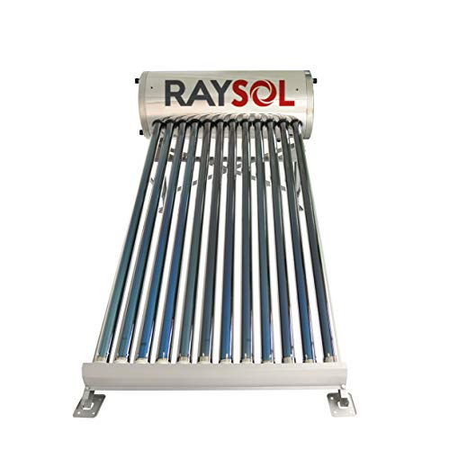 Calentador Solar Raysol Gr 12 Tubos-120 Litros Baja Presión