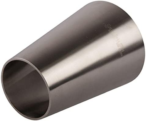 Glacier Tanks Concentric Reducer - Stainless Steel SS304 // 3A Butt Weld 3 inch x 2 in