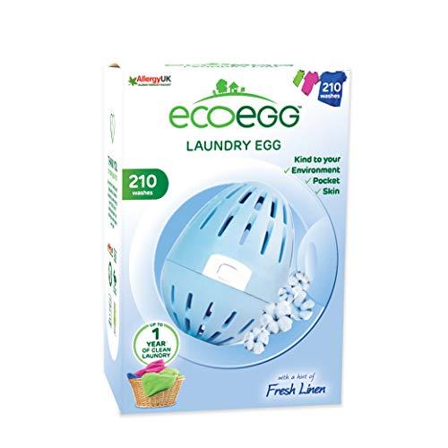 Ecoegg wasmachine (54 was), Fresh Linen, 210 Washes