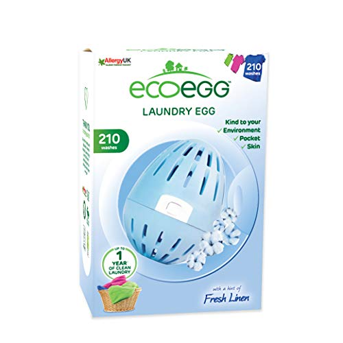 Ecoegg wasmachine (54 was), Fresh Linen, 210 Washes