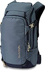 Vertical snowboard carry Diagonal or A frame ski carry Backpanel zippered main access DK Impact Spine Protector compatible, sold separately Snow tool or shovel pocket