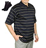 Polo Shirts for Men - Loose Fit Short-Sleeve Mens Casual Dry Fit Collared