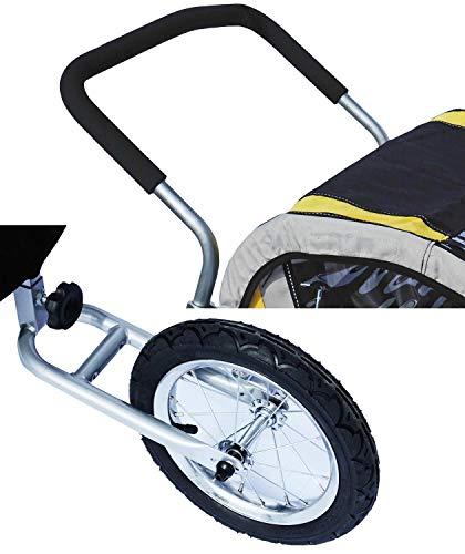 Kranich Jogger Set Erweiterung für Kranich 66521 Kinderanhänger Fahrradanhänger
