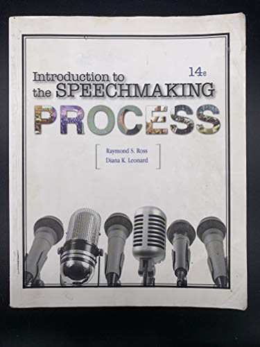 Price comparison product image Introduction to the Speechmaking Process