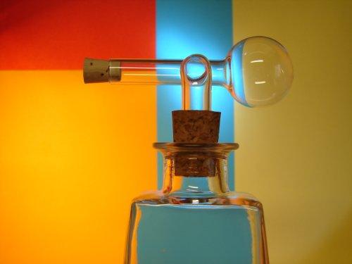 Glasausgießer, Portionierer, Ausgießer, Dosierer, Glaskugelportionierer, Schnapsspender 2cl