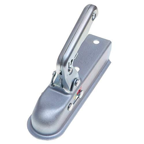 Adaptador de remolque impermeable 1 Pc enganche de remolque de metal duradero 800kgs Remolque Remolque Kits Bola cubierta de remolque Enganche de remolque de bola adaptador de accesorios del coche Ade