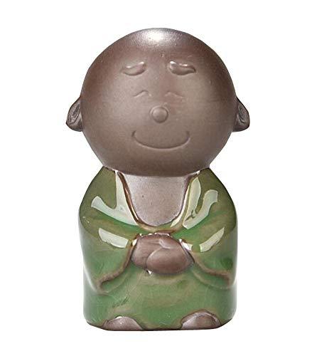 Jingyun Kung Fu Tee Tablett Haustier Farbe ändern Tee Ornament Tee Tablett Haustier Zubehör Keramik Mönch G02