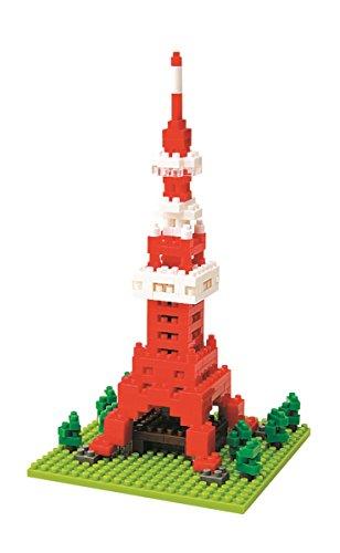 Nanoblock - Nbh-001 - Jeu De Construction - Tokyo Tower