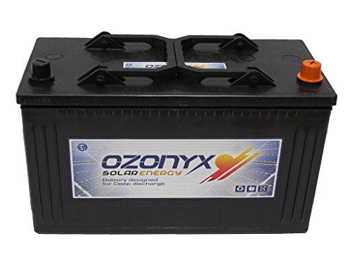 Batería Solar 125Ah OZONYX Solar Abierta