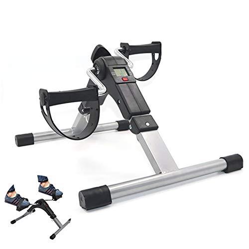 FJPAIPP Ejercitadores de pedalesminibicicleta estática Pedal médico Chrome Stepper Bike Fitness Fitness Training Machine