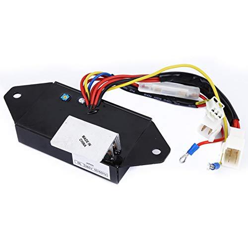 Regulador de voltaje automático de alto rendimiento de 8,5-20 kVA 380V 50/60Hz retardante de llama para el generador Kubota J315 J318