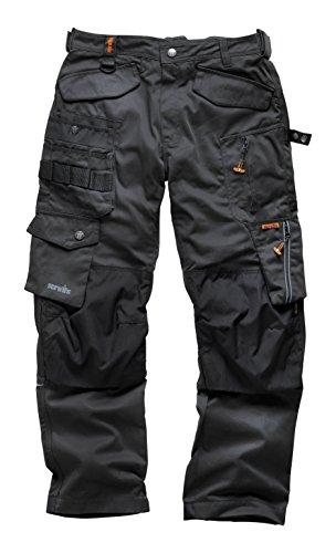 Scruffs Men's 3D Pro Trouser, Graphite, Size 38R